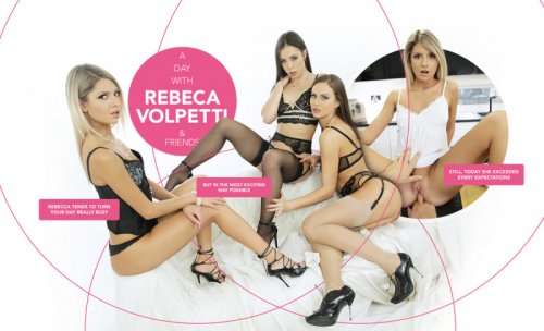 Download lifeselector / SuslikX - A day with Rebecca Volpetti & Friends